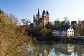 Limburger dom limburg an der lahn germany Royalty Free Stock Image