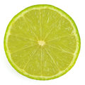 Lime isolated on white background Stock Image
