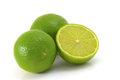 Lime isolated on white background Royalty Free Stock Photo