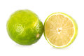 Lime isolated on a white background Stock Photography