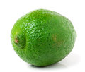 Lime isolated on white background close up Royalty Free Stock Photo