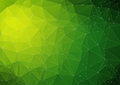 Lime reen bright abstract triangle image for web design Royalty Free Stock Photography