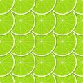 Lime seamless pattern with ripe juicy fruit Royalty Free Stock Photo