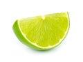 Lime segment Royalty Free Stock Photo