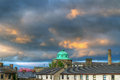 Limerick city at sunset Royalty Free Stock Photography