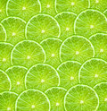 Limes background fresh green pattern for Stock Photography