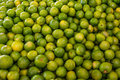 Limes at a market in Mexico Royalty Free Stock Photo