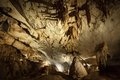 Limestone cave at gunung mulu national park malaysia Royalty Free Stock Photography