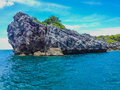 Limestone cliffs at koh ang thong marine national park thailand Stock Photo