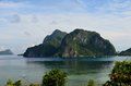 Limestone of El Nido Royalty Free Stock Images