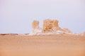 The limestone formation rocks Royalty Free Stock Photo