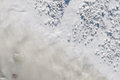 Limestone in natural light diffused water mountain of waste the industrial zone Royalty Free Stock Photos