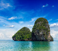 Limestone rock, Thailand Royalty Free Stock Photography