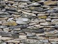 Limestone Wall Full Frame Image Royalty Free Stock Photo