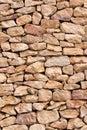 Limestone wall Royalty Free Stock Photo