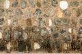 Limestone walls Royalty Free Stock Photo