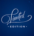 Limited hand lettering (vector) Royalty Free Stock Photo