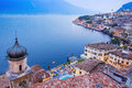 Limone sul Garda, lake Garda, Italy Royalty Free Stock Photo