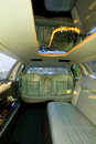 Limousine interior Royalty Free Stock Photo