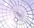 Limpid round ceiling Royalty Free Stock Photo
