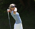 Lina elmaster at the fourqueux golf ladies open course france –june swe generali european tour june Stock Photos