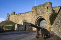 Lincoln Castle in Lincoln UK Royalty Free Stock Photo