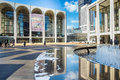 Lincoln center nyc new york city feb the plaza in new york city is home to the metropolitan opera ballet ny Royalty Free Stock Photography