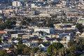 Lincoln heights california editorial view of urban in the city of los angeles Stock Images