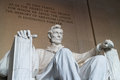 Lincoln Memorial. Royalty Free Stock Images