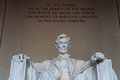 Lincoln Memorial. Royalty Free Stock Photography