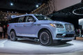 Lincoln Navigator shown at the New York International Auto Show