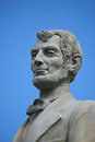 Lincoln statue a of abraham located in san juan puerto rico Stock Images