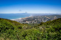 Linda Mar, Pacifica, Pacific Ocean, Mount Tamalpais as see from Royalty Free Stock Photo