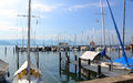 Lindau nice summer day in Stock Image