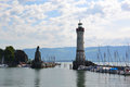 Lindau nice summer day in Stock Photos