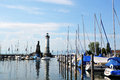 Lindau nice summer day in Royalty Free Stock Photos