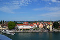 Lindau nice summer day in Stock Photo