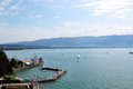 Lindau nice summer day in Royalty Free Stock Image