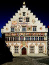 Lindau Town Hall Royalty Free Stock Photography