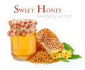 Linden honey Royalty Free Stock Photos