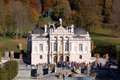 Linderhof Castle Royalty Free Stock Photo