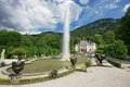 Linderhof castle garden - Germany Royalty Free Stock Photo