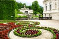 Linderhof Palace Garden. Stock Photos