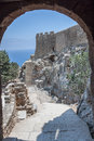 Lindos Castle Rhodes Greece