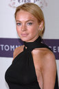 Lindsay lohan actress at the th annual race to erase ms gala themed rock royalty to erase ms at the century plaza hotel april Royalty Free Stock Image