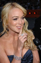 Lindsay lohan actress at the world premiere of mr mrs smith june los angeles ca paul smith featureflash Stock Images