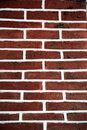 The line a brick wall Royalty Free Stock Images