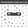 Line and carpenter level icon. Constraction tools icons universal set for web and mobile Royalty Free Stock Photo