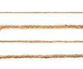 Line of a linen rope string Royalty Free Stock Photo