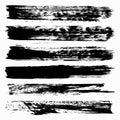 Line monochrome graffiti grunge texture collection of vector illustration